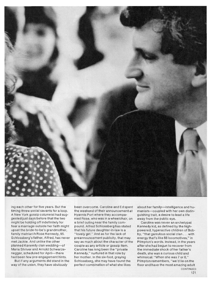 A Kennedy Romance Engagements Caroline Kennedy Jacqueline Kennedy