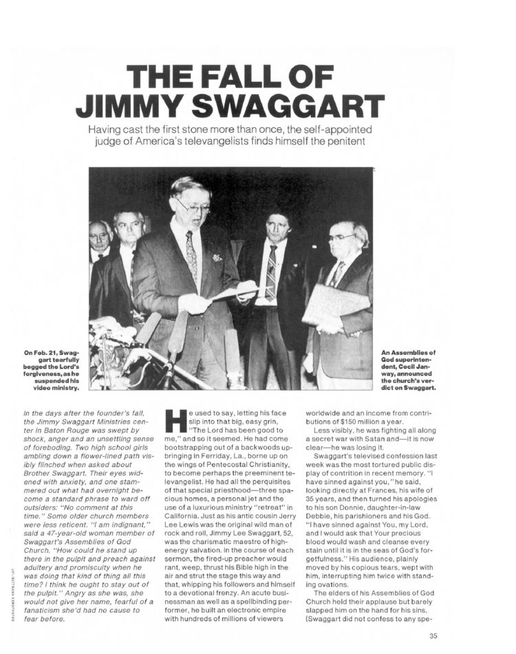 Jimmy Swaggart Scandal Girl http://www.people.com/people/archive/article/0,,20098413,00.html