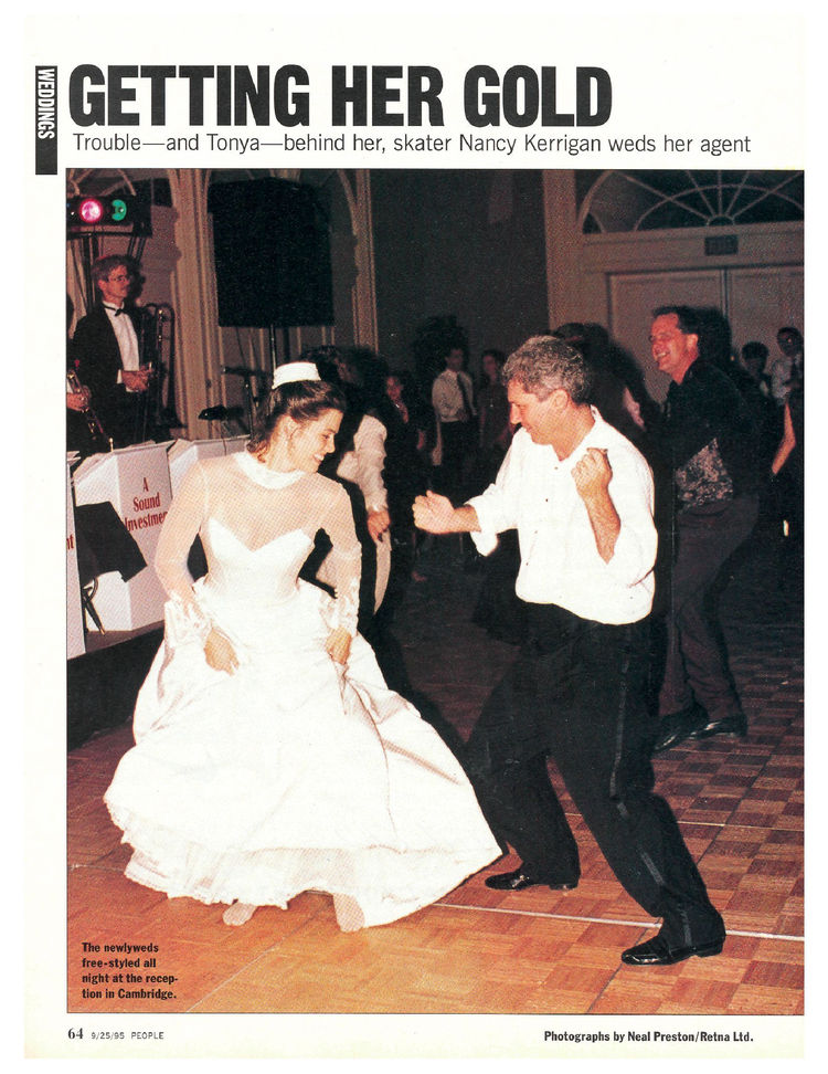 nancy kerrigan  marriage