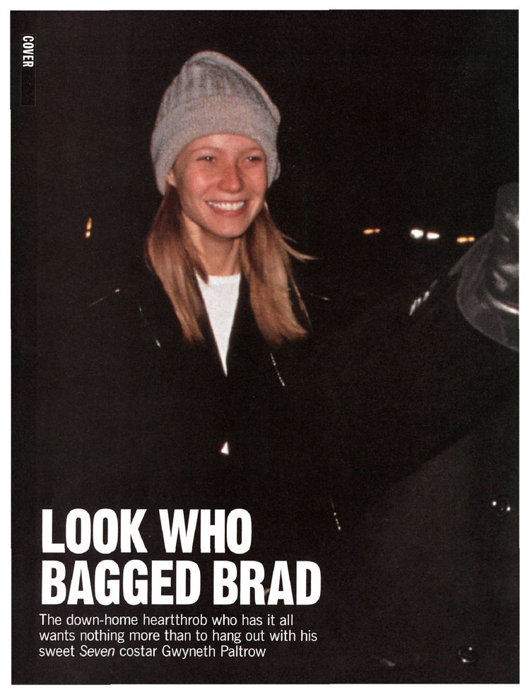 Look Who Bagged Brad - Couples, Brad Pitt, Gwyneth Paltrow : People.com