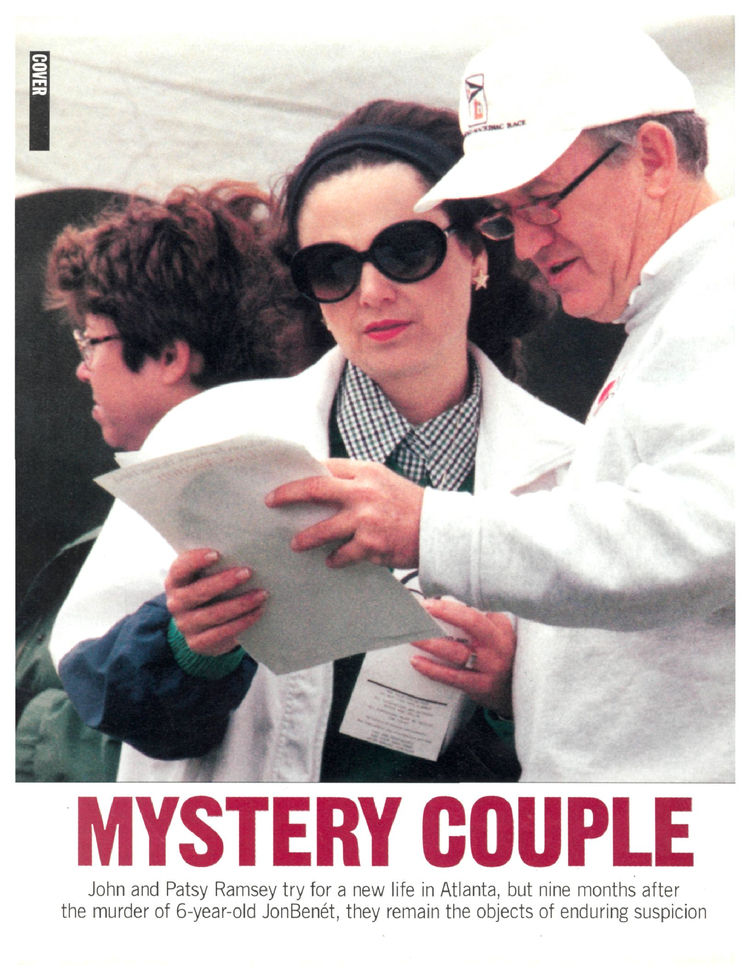 John and Patsy Ramsey Try for a New Life in Atlanta, but Nine Months ...