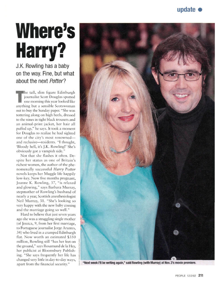 J.K. Rowling Has a Baby on the Way. Fine, but What About the Next Potter?