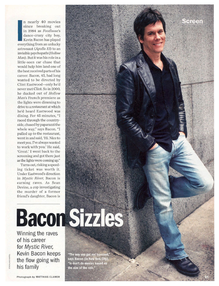 Bacon Sizzles - Kevin Bacon : P...