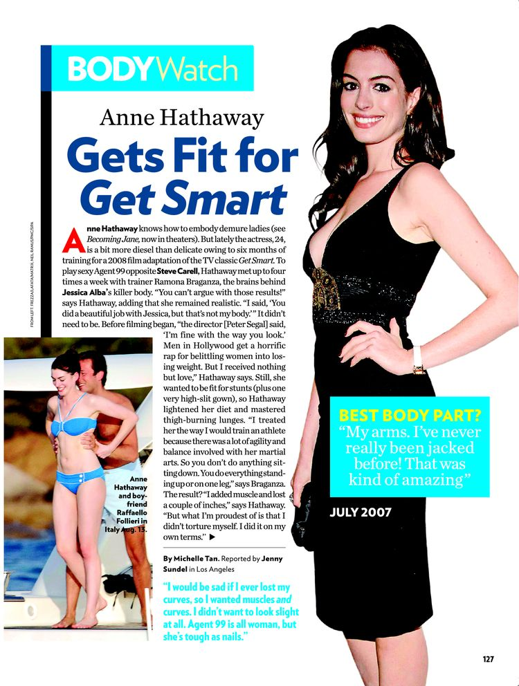 anne hathaway knows how to