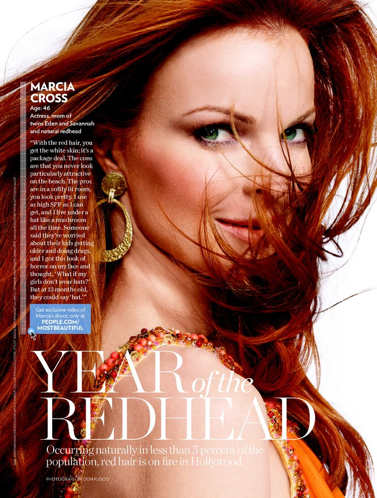 Occurring Naturally in Less Than 5 Percent of the Population, Red Hair ...