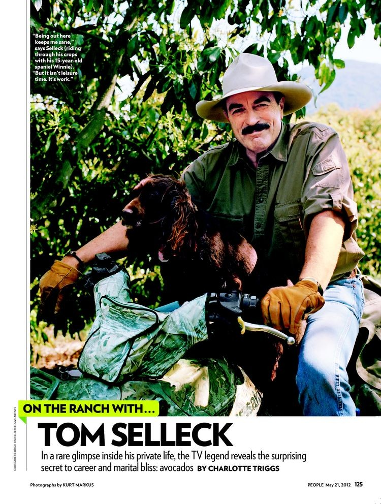 After more than three decades in Hollywood, Tom Selleck has dealt with his ...